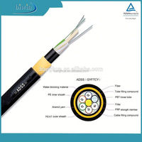 Latin America market hot sell popular Aerial monomodo ADSS fiber optic cable