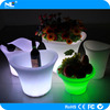 Wine cooler lighted led bar ice bucket night bar ice bucket with led lights party luxury led plastic clear ice bucket