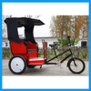 3 Wheel Electric Assistant Touring Pedicab Rickshaws