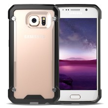 Best quality promotions hard transparent back cover case for samsung s6