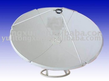 c band 6ft satellite dish antenna ground mount