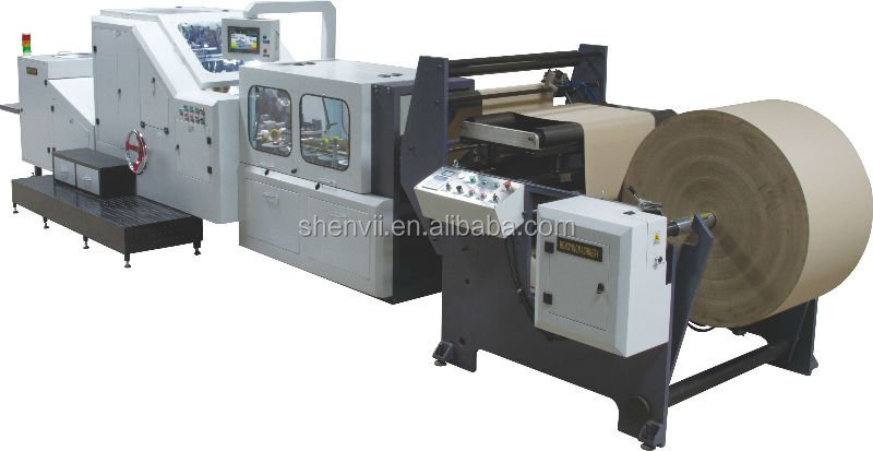Manual Used Paper Bag Making Machine from Germany