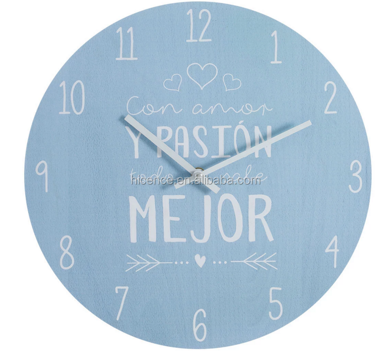 New OEM Spanish Designs Unique Wall Clock Watch For Home Decoration
