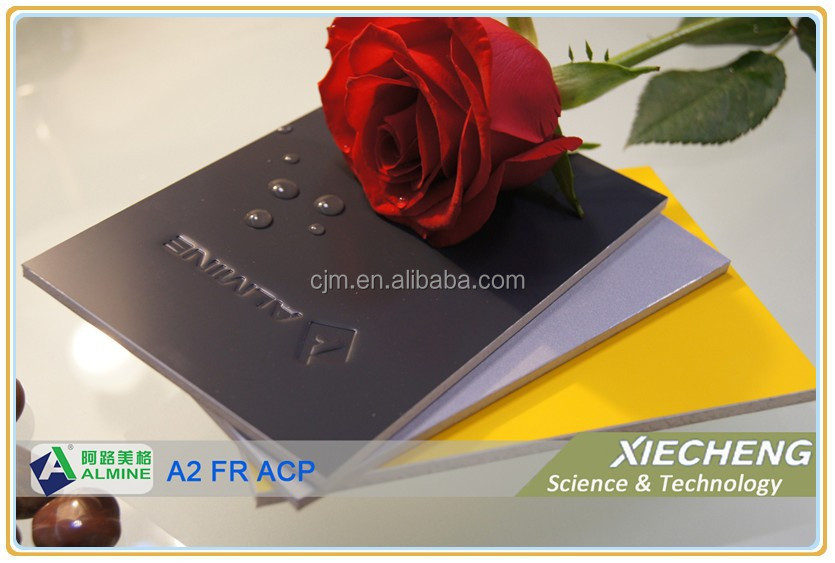 External Cladding Panel, Class A2 Fire Resistant Aluminium Composite Panel, PVDF/PE coated ACP