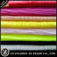 brushed polyester spandex fabric, pleated fabric 100% polyester, polyester fabric price per yard