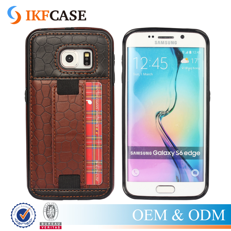 Leather Bag Genuine Accessories Phone Case for Samsung Galaxy S6 Edge G925