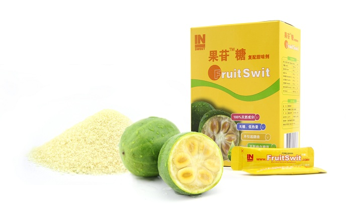 Low-calorie sweetener from natural luo han guo