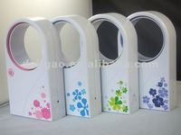 portable mini handheld summer air cooling USB bladeless fan for sale
