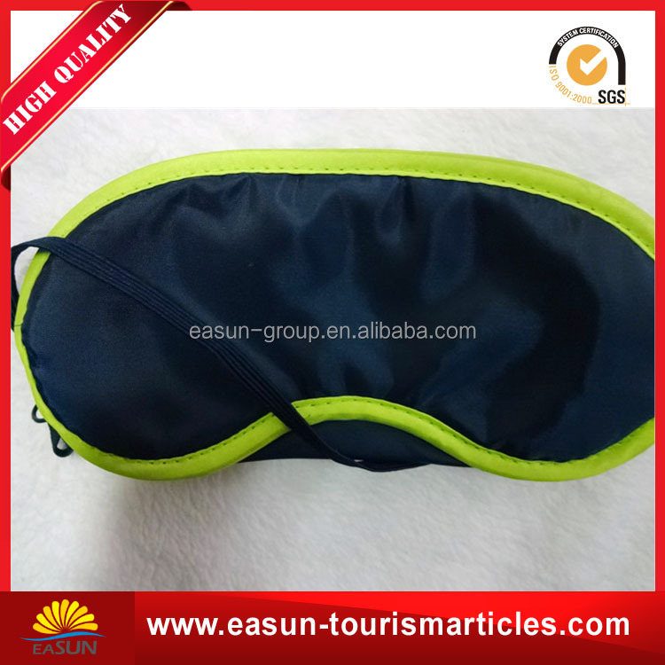 airline sleeping polyester eye mask with nose pads