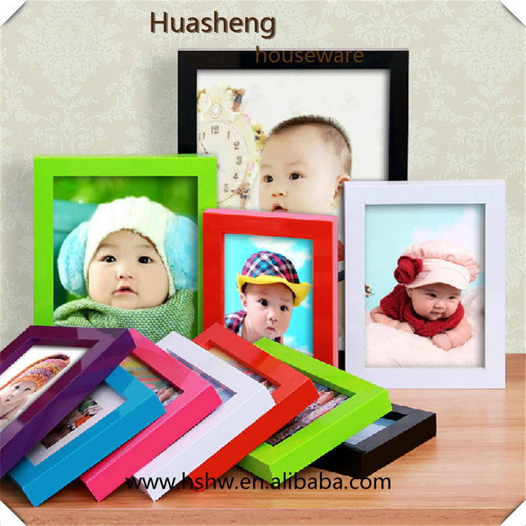Cheapest best selling 2014 clear plastic picture photo frame