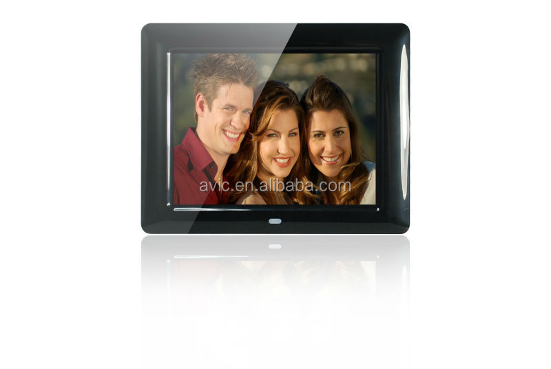 Factory direct supply acrylic 7 inch battery operate China digital photo frame