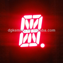 Super red 0.5 inch 1 Digit 16 segment LED display/ M word tube