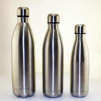 17oz Custom double wall vacuum insulated stainless steel metal thermos vacuum flask cola shape sport water bottle