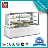 Right Angle Chiller cake display