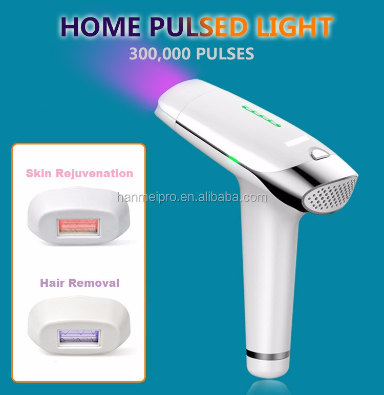 2017 NEW Professional LCD Laser Hair Removal Machine Home Use 300000 Pulse Permanent IPL Laser Epilator