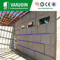 Lightweight 150mm Exterior EPS Wall Panel for High-rise Building