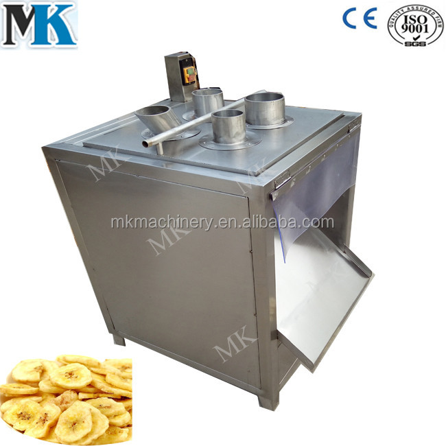 Stainless steel banana slicer / banana chips cutter / banana slicing machine