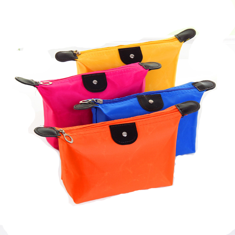 Good quality low price AY private label <strong>cosmetic</strong> travel plain makeup bag