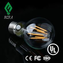 220V Dimmable A60 Frosted LED Filament Bulb Light e27 a19 led bulb skd bulb