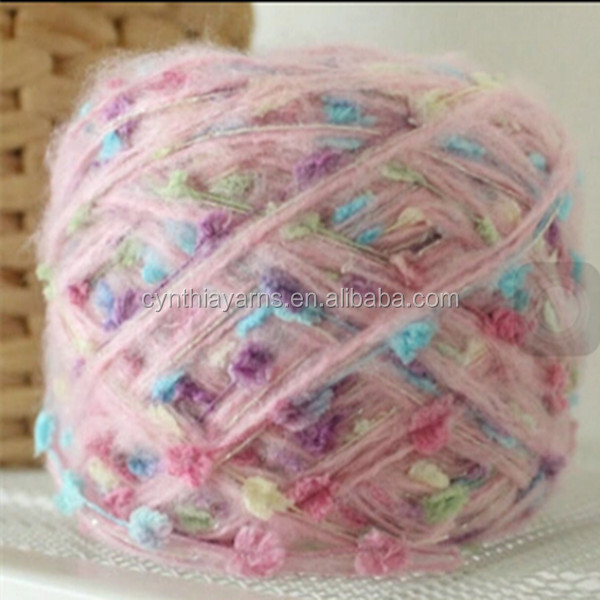 China stock lots textile alpaca yarn Super Kid Mohair blended Baby Alpaca in China