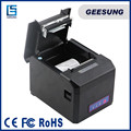 pos printer with USB+Serial+Ethernet interfaces 2D barcode receipt 80mm thermal printer