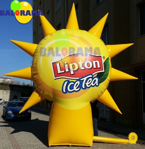 ice tea advertising balloon, advertising inflatables