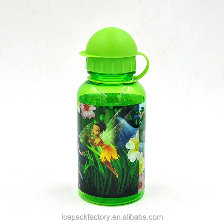 Food grade wholesale small plastic child water bottle 500ml