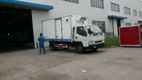 -18to-25degree JMC refrigeration lorry/Refer Van for vehicle /box car/Refit truck on sale