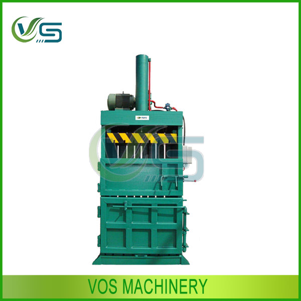 VOS hydraulic straw baling machine/hydraulic hay baler/cotton baler press machine in China