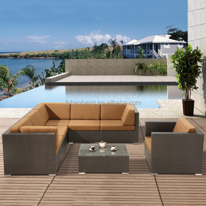 outdoor aluminum frame resin wicker <strong>furniture</strong>