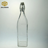 /product-detail/wholesale-square-shaped-1-liter-beverage-glass-bottle-with-swing-top-60305192615.html