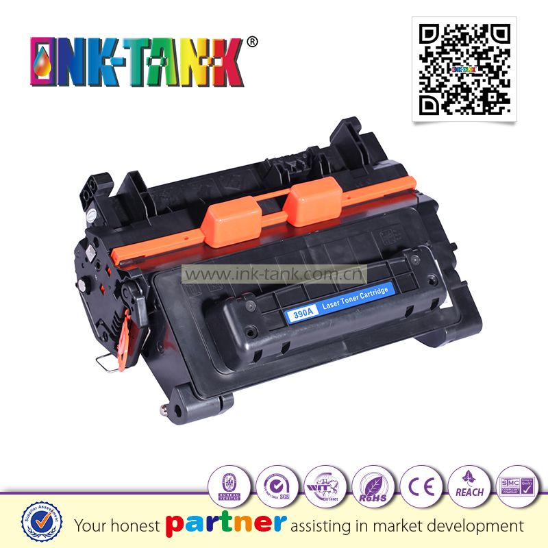 compatible hp 390a toner cartridge used LaserJet M4555MFP M601n M602n
