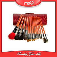 MSQ 16pcs Natural Hair High Quality Makeup Wholesale Hair Brushes