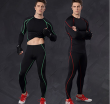hot-sale China mens sports clothes / long sleeve compression top / men's gym t shirt with reflective logo