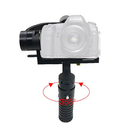 Hot selling video steadicam VS-3SD gimbal for digital camera gimbal stablization with low price