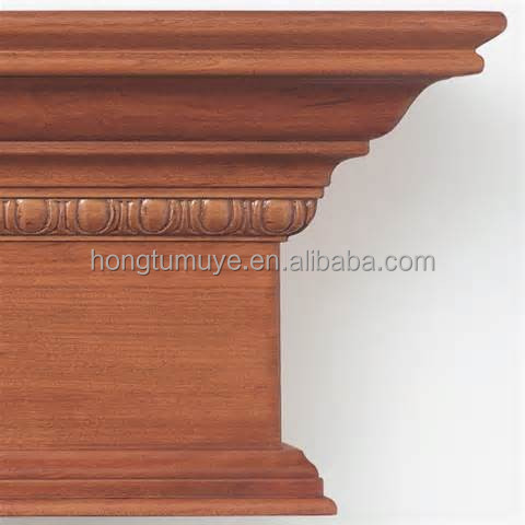 fashion style window cornice for cabinet constrction decoration