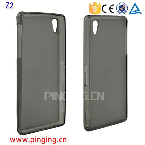 Cover Case for Sony Z2,for Sony Xperia Z2 transparent TPU Gel Case