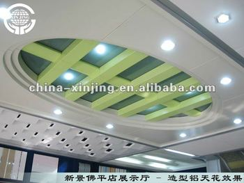 Aluminum ceiling roof covering