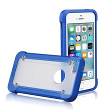 SUPCASE Transparent Shockproof Rugged Armor Hybrid Hard Case Cover For Iphone 5 5s