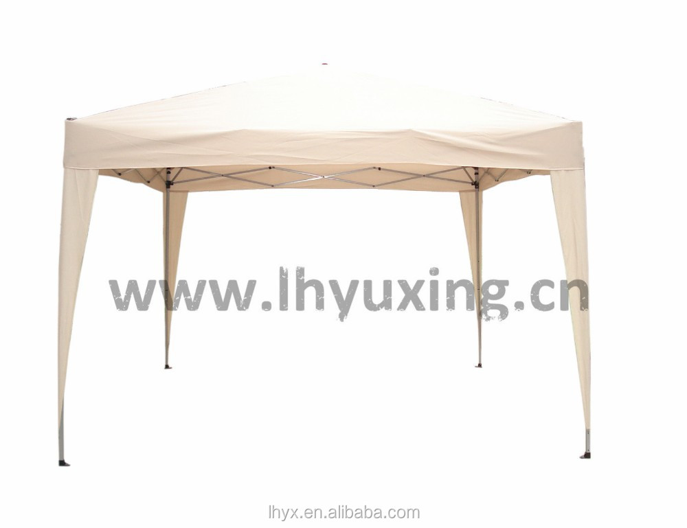 3x3m portable used folding gazebo easy up gazebo steel frame with sunshade