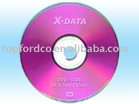 Dual Layer DVD+R 8.5GB Compatible with All Burners
