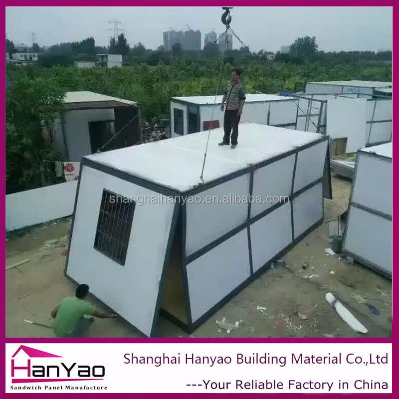 Low Cost Construction Site Expandable Container House
