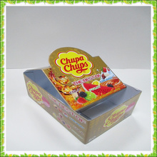 Wholesale candy bar display boxes with logo printed make in Guangzhou