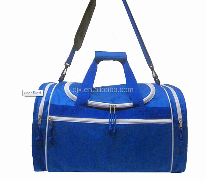 2015 Promotional factory polyester duffle bag, sports duffle bag