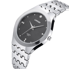 Wholesale lady stainless steel watch band brand quartz movement women wrist watches