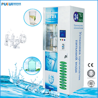 Automatic refill 5 gallon bottle water vending machine
