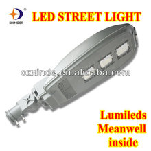 lumileds led chips & Meanwell led driver led street light 100w led road lamp
