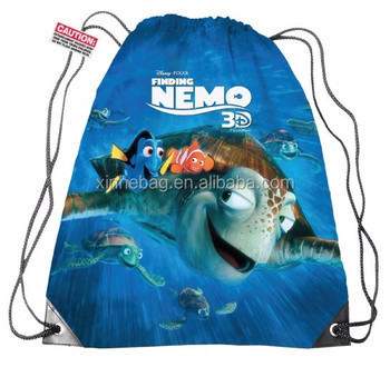 China factory low price nylon drawstring backpack, OEM welcomed