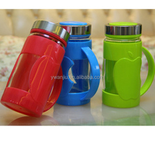 Supply fashion creative quality plastic cement apple glass office Cup / mug (350ml)