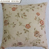 Flower Print Outdoor Home Decor Car Pillow Wood Sofa Seat Cushion